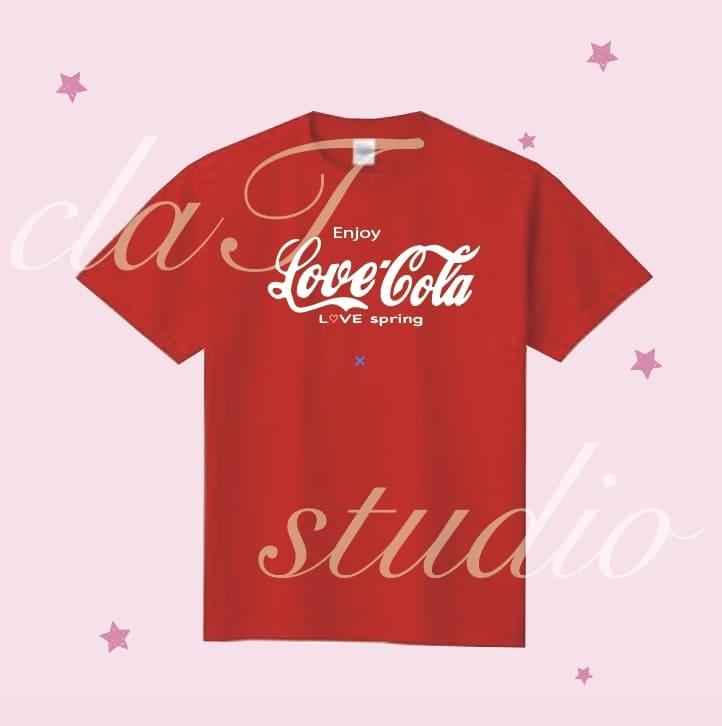 CocaColaのクラスTシャツデザインb