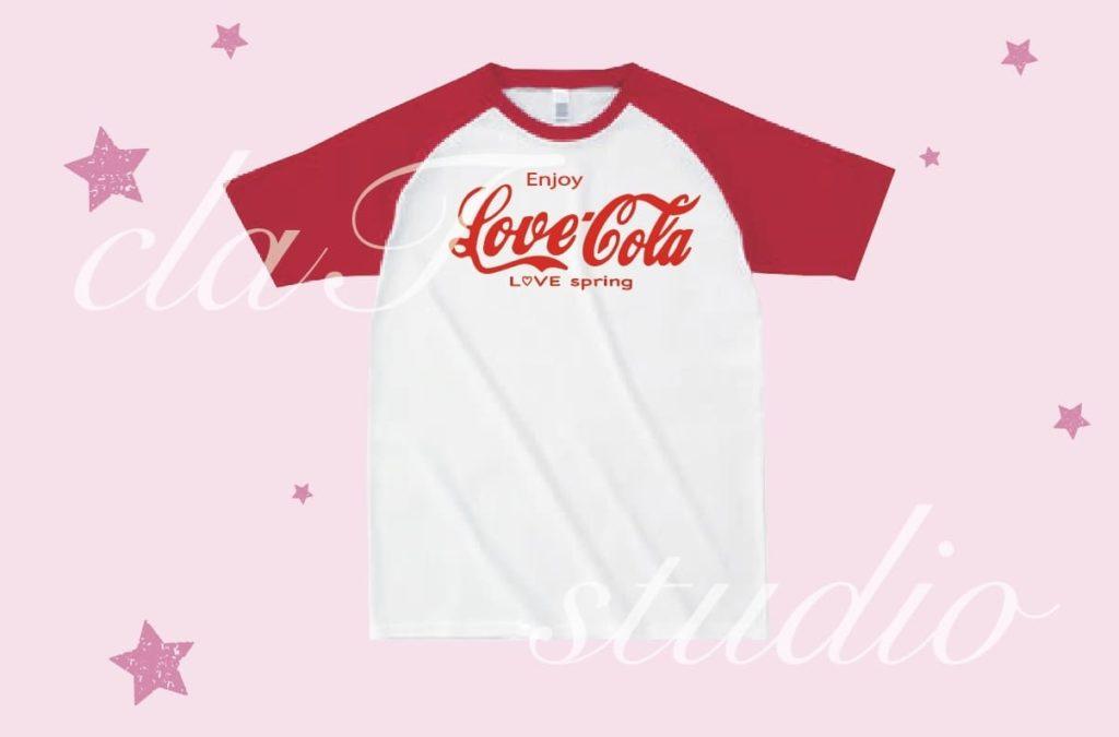 CocaColaのクラスTシャツデザインc