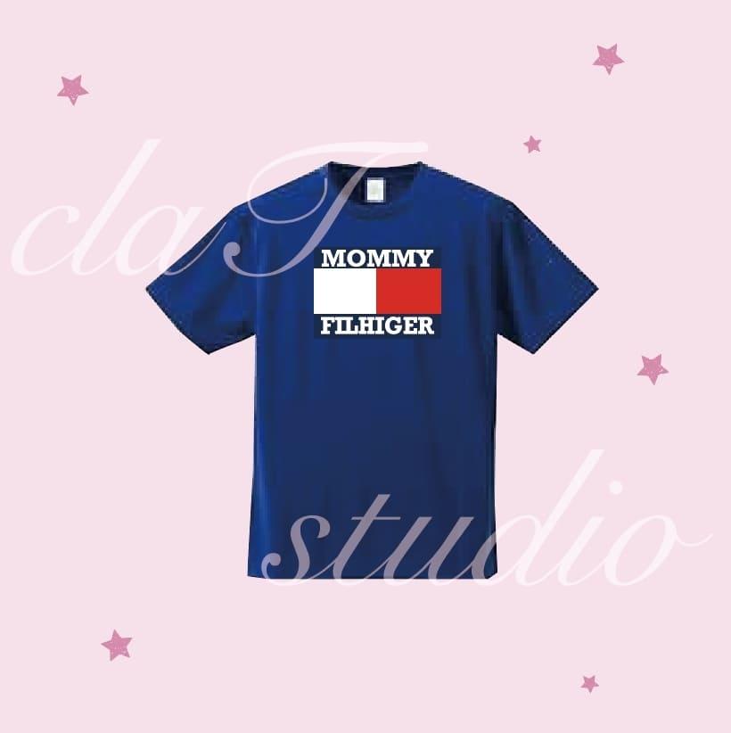 TommyのクラスTシャツのデザインc