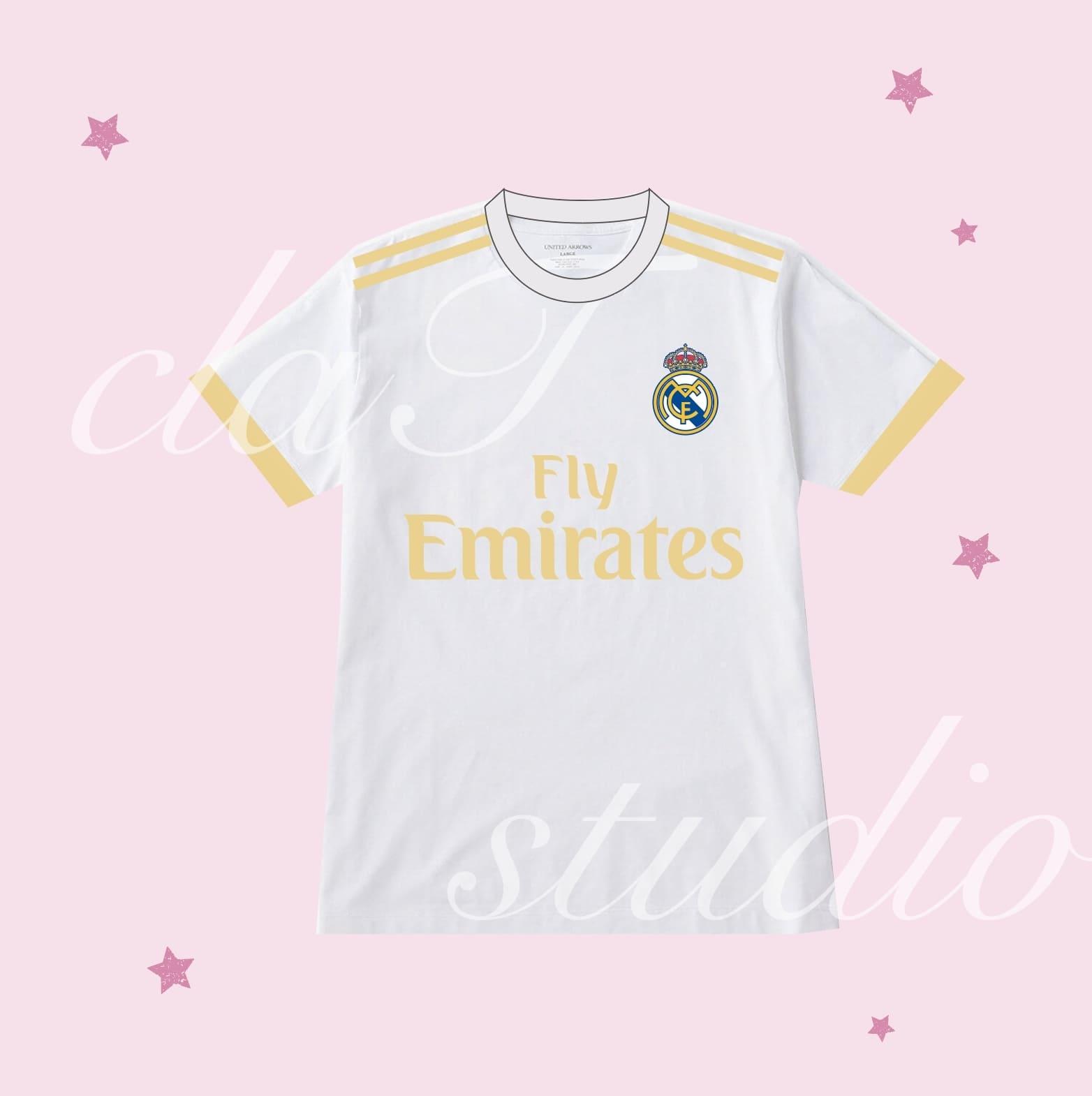白のサッカーユニフォームクラスtシャツ_image_0002