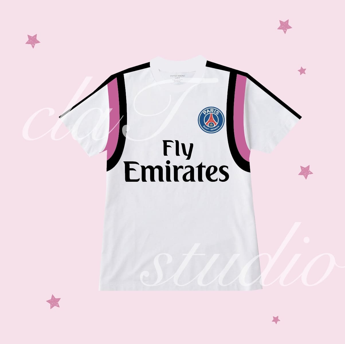 紫のサッカーユニフォームクラスtシャツ_image_0001