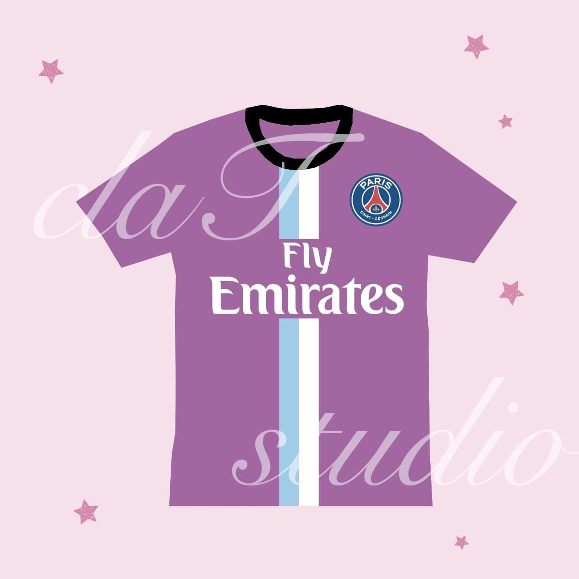 紫のサッカーユニフォームクラスtシャツ_image_0002