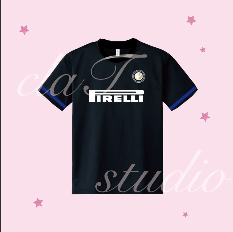 黒のサッカーユニフォームクラスtシャツ_image_0002