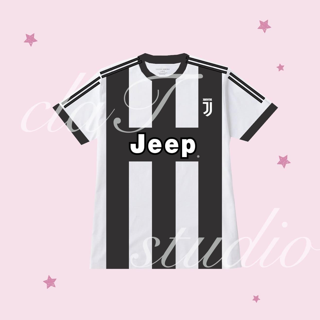 黒のサッカーユニフォームクラスtシャツ_image_0003