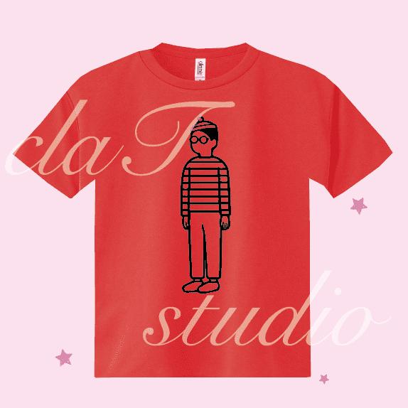 ウォーリーのクラスTシャツ_image01